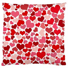 Heart 2014 0935 Large Flano Cushion Cases (two Sides)