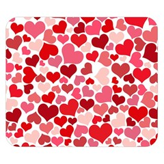 Heart 2014 0935 Double Sided Flano Blanket (Small)