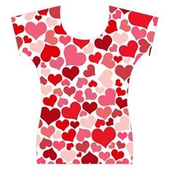 Heart 2014 0935 Women s Cap Sleeve Top