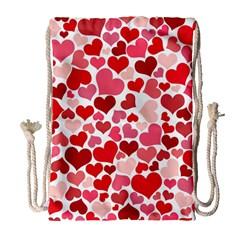 Heart 2014 0935 Drawstring Bag (Large)