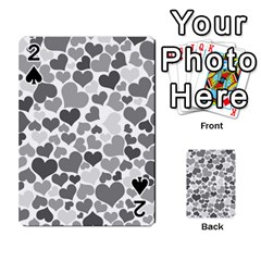 Heart 2014 0936 Playing Cards 54 Designs