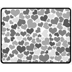 Heart 2014 0936 Fleece Blanket (Medium)