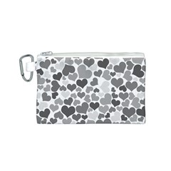 Heart 2014 0936 Canvas Cosmetic Bag (s)