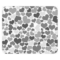 Heart 2014 0936 Double Sided Flano Blanket (Small)
