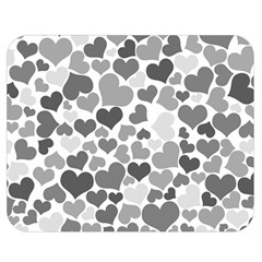 Heart 2014 0936 Double Sided Flano Blanket (Medium)