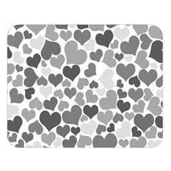 Heart 2014 0936 Double Sided Flano Blanket (Large)