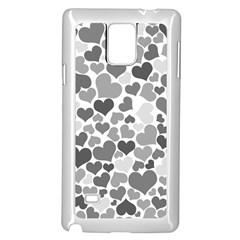 Heart 2014 0936 Samsung Galaxy Note 4 Case (White)