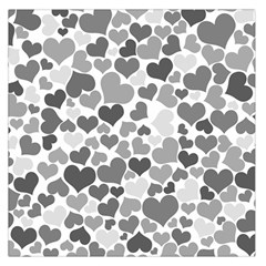 Heart 2014 0936 Large Satin Scarf (Square)