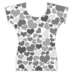 Heart 2014 0936 Women s Cap Sleeve Top
