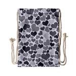 Heart 2014 0936 Drawstring Bag (Small) Back