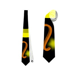 Taurus Floating Zodiac Sign Neckties (One Side)