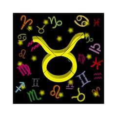 Taurus Floating Zodiac Sign Acrylic Tangram Puzzle (6  x 6 )
