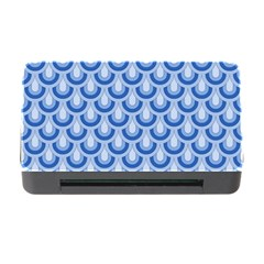Awesome Retro Pattern Blue Memory Card Reader With Cf