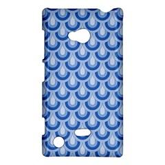 Awesome Retro Pattern Blue Nokia Lumia 720