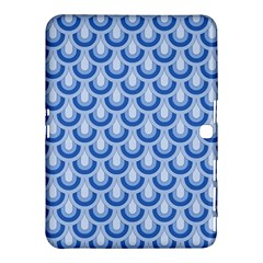 Awesome Retro Pattern Blue Samsung Galaxy Tab 4 (10.1 ) Hardshell Case