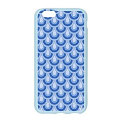Awesome Retro Pattern Blue Apple Seamless iPhone 6 Case (Color)