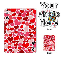 Heart 2014 0937 Playing Cards 54 Designs