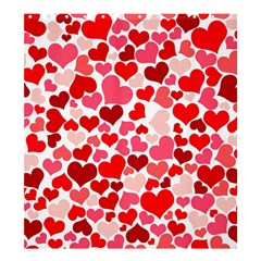 Heart 2014 0937 Shower Curtain 66  x 72  (Large)