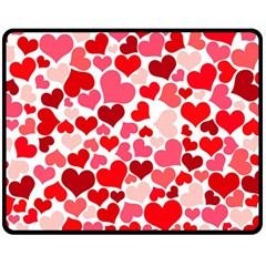 Heart 2014 0937 Fleece Blanket (medium)
