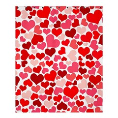 Heart 2014 0937 Shower Curtain 60  x 72  (Medium)