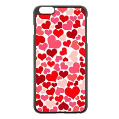 Heart 2014 0937 Apple Iphone 6 Plus Black Enamel Case
