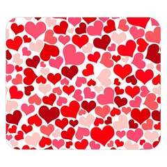 Heart 2014 0937 Double Sided Flano Blanket (small)