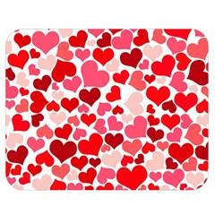 Heart 2014 0937 Double Sided Flano Blanket (Medium)