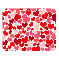 Heart 2014 0937 Double Sided Flano Blanket (large)