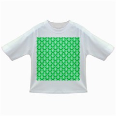 Awesome Retro Pattern Green Infant/toddler T Shirts