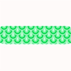 Awesome Retro Pattern Green Large Bar Mats