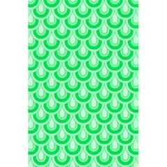Awesome Retro Pattern Green 5 5  X 8 5  Notebooks