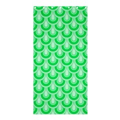 Awesome Retro Pattern Green Shower Curtain 36  x 72  (Stall)