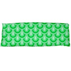Awesome Retro Pattern Green Body Pillow Cases (dakimakura)