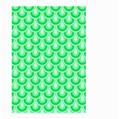 Awesome Retro Pattern Green Small Garden Flag (two Sides)
