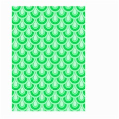 Awesome Retro Pattern Green Large Garden Flag (two Sides)