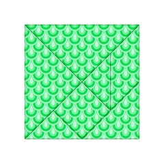 Awesome Retro Pattern Green Acrylic Tangram Puzzle (4  x 4 )