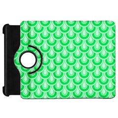 Awesome Retro Pattern Green Kindle Fire Hd Flip 360 Case