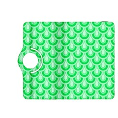 Awesome Retro Pattern Green Kindle Fire Hdx 8 9  Flip 360 Case