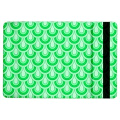 Awesome Retro Pattern Green iPad Air 2 Flip