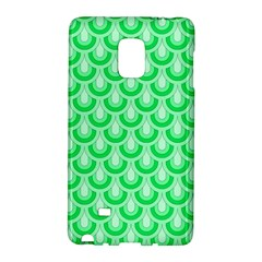 Awesome Retro Pattern Green Galaxy Note Edge
