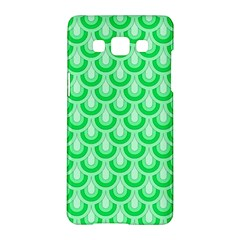 Awesome Retro Pattern Green Samsung Galaxy A5 Hardshell Case