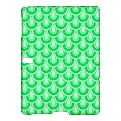 Awesome Retro Pattern Green Samsung Galaxy Tab S (10 5 ) Hardshell Case