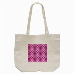 Awesome Retro Pattern Lilac Tote Bag (Cream)