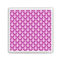 Awesome Retro Pattern Lilac Memory Card Reader (Square)