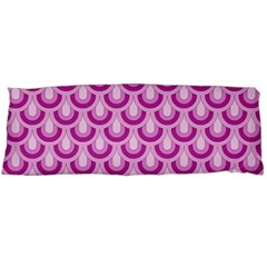 Awesome Retro Pattern Lilac Body Pillow Cases (Dakimakura)