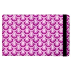 Awesome Retro Pattern Lilac Apple Ipad 3/4 Flip Case