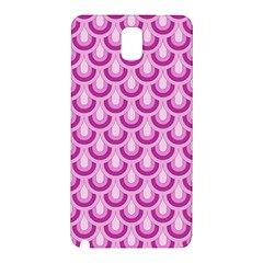 Awesome Retro Pattern Lilac Samsung Galaxy Note 3 N9005 Hardshell Back Case