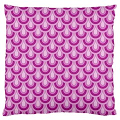 Awesome Retro Pattern Lilac Standard Flano Cushion Cases (two Sides)