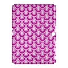 Awesome Retro Pattern Lilac Samsung Galaxy Tab 4 (10 1 ) Hardshell Case