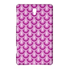 Awesome Retro Pattern Lilac Samsung Galaxy Tab S (8 4 ) Hardshell Case